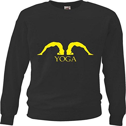 Reifen-Markt Sweatshirt Damen Motiv-601976 Größe 2XL Farbe Schwarz Druck 601976