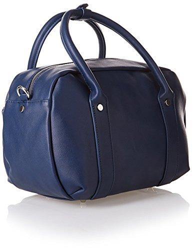 Cortefiel - 6707459, Borsa A Mano Donna Blu Navy