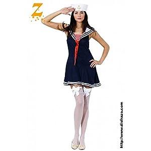 Aptafêtes-cs922640/M Marino, Este Disfraz Incluye Vestido y Gorro Disfraz-M -