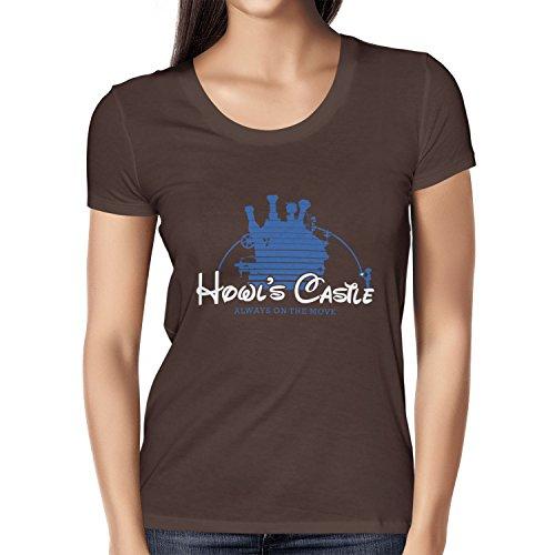 TEXLAB - Howl's Castle - Damen T-Shirt, Größe M, braun