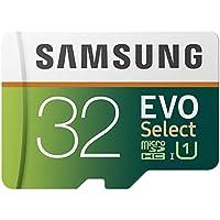 Samsung MB-ME32GA/EU EVO Select Micro SD HC Scheda di Memoria con Adattatore SD, 32 GB