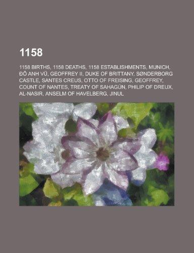 1158: Treaty of Sahagun, List of State Leaders in 1158, 1158 in Art,