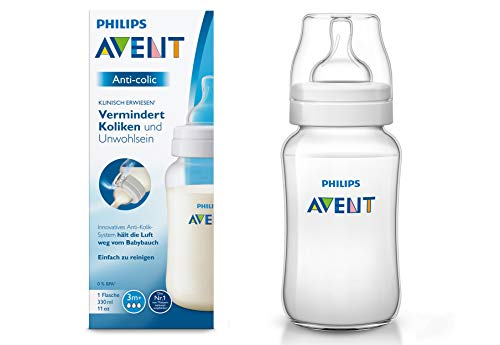 Philips Avent SCF816/17 Biberon Anti-Colic con Valvola AirFree, 330 ml