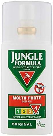 Jungle Formula Molto Forte Spray Anti-Zanzare, Repellente per Insetti con Azione Protettiva Duratura, 9 Ore di