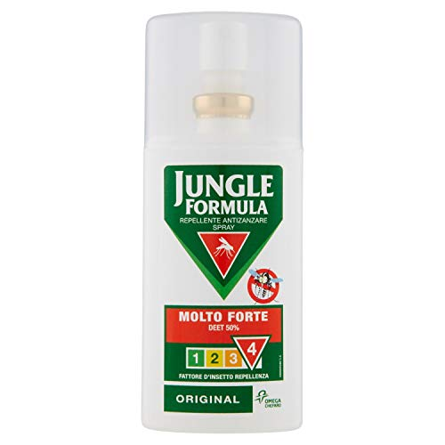 Jungle Formula Repellente Antizanzare Spray Molto Forte, 75 ml