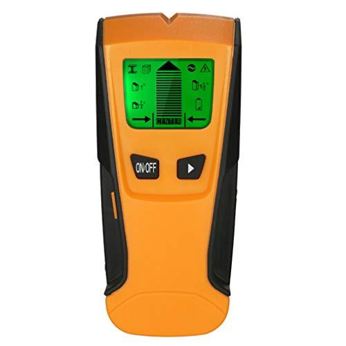 GuDoQi 3 in 1 Multifunktions Detektor Ortungsgerätmit Großem LCD Bildschirm für Metall Holz Wechselspannung Leistungssucher Wand Scanner Stud Pinpoint