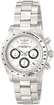 Invicta Mens Quartz Watch, Analog Display and Stainless Steel Strap 9211