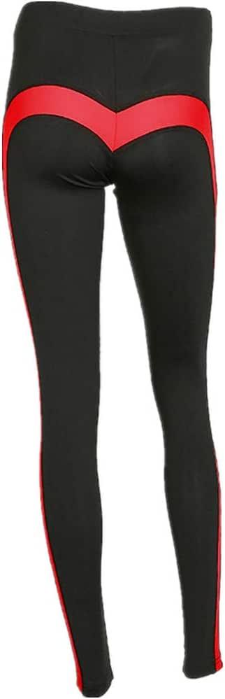 Pantaloni Capri Tuta Donna Homebaby Sportivi Donna Pantaloni Vita Alta Donna Figura Del Cuore Eleganti Yoga Leggings Sport Opaco Fitness Spandex Palestra Pantaloni Leggins Push Up
