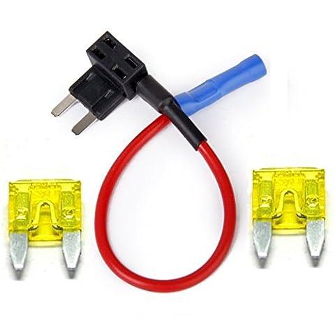 Ajoutez-A-Circuit Mini-fusibles à lame Rouge 20amp