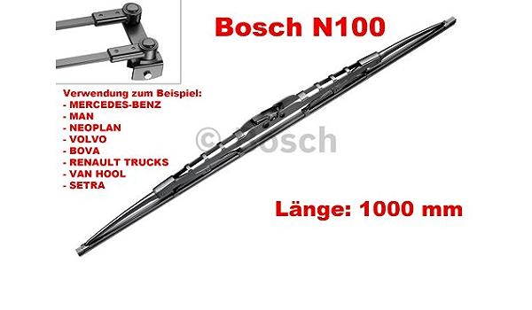 Bosch 3397018199 Nkw Scheibenwischer Ein Wischerblatt N100 1000mm Auto