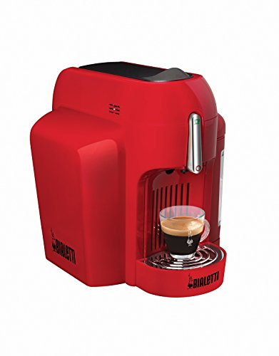 Bialetti Mini, Espresso-Maschine, geschlossenes System. rot