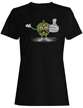 Amo regalo divertido feliz de la fruta del pandanus camiseta de las mujeres d606f