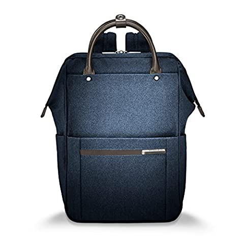 Briggs & Riley Kinzie Street Framed Wide-mouth Backpack, 13