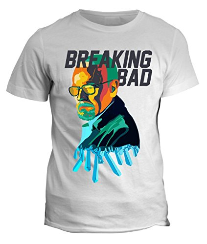 Tshirt breaking bad walter white- serie tv - in cotone by fashwork