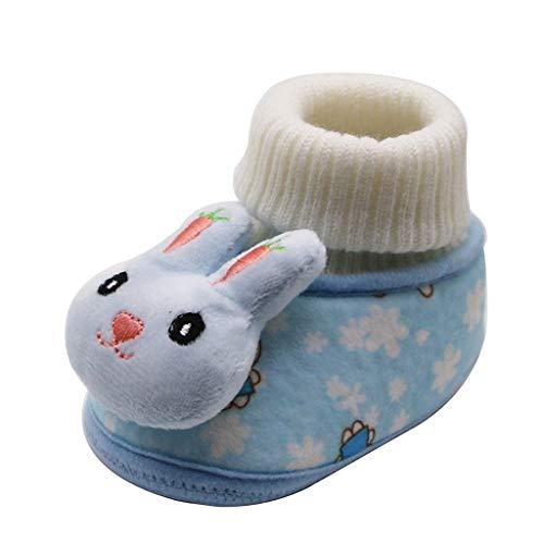 Sanahy_baby Mädchen Jungen Soft Booties Schneeschuhe Schuhe Bootie, rutschfeste Babysocken -