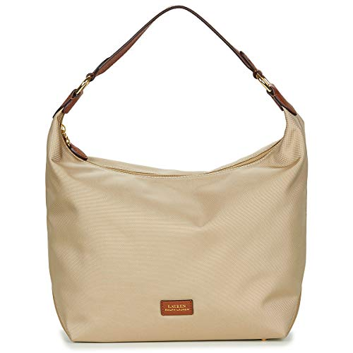 Lauren Bolso hobo de nailon Clay