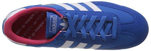 adidas Dragon Unisex-Erwachsene Sneakers Blau (Bluebird/Runwhite/Blapink)