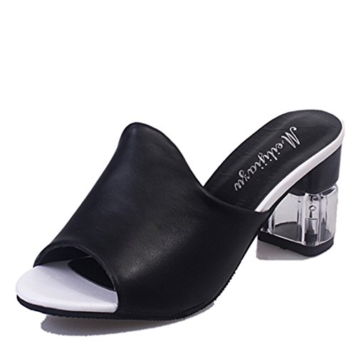 Estate sandali moda pesce bocca/traspirante scarpe/spesso con pantofole aperte casual B