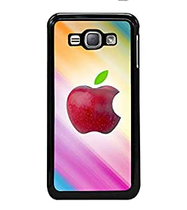 printtech Apple Back Case Cover for Samsung Galaxy J1 (2016) :: Samsung Galaxy J1 (2016) Duos with dual-SIM card slots :: Galaxy Express 3 J120A (AT&T); J120H, J120M, J120M, J120T