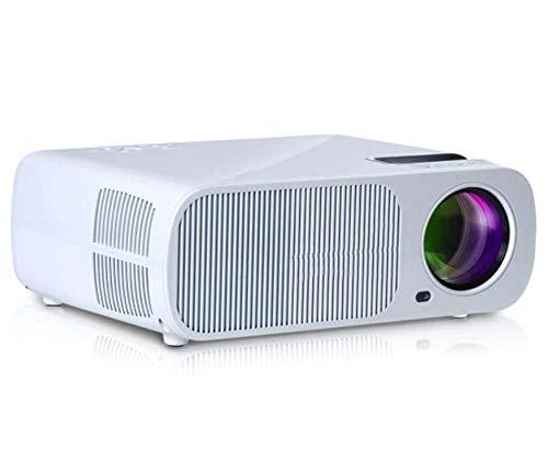 "BAL Tragbarer Led-Projektor, 30""-130"" Full Hd 1080p Heimkino, 2600 Lumen, Kontrast 2000: 1, Kompatibel mit HDMI, USB, SD, VGA, Av, Tv, Laptop"