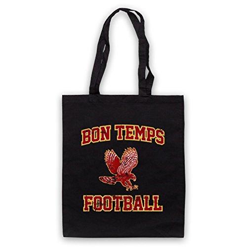 Inspiriert durch True Blood Bon Temps Football Inoffiziell Umhangetaschen Schwarz
