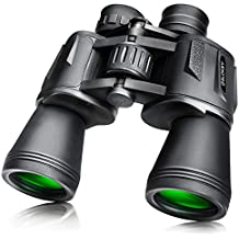 Prismáticos 10x50 Slokey – Binoculares Largavista Profesionales, de Largo Alcance y Potentes para Adultos.