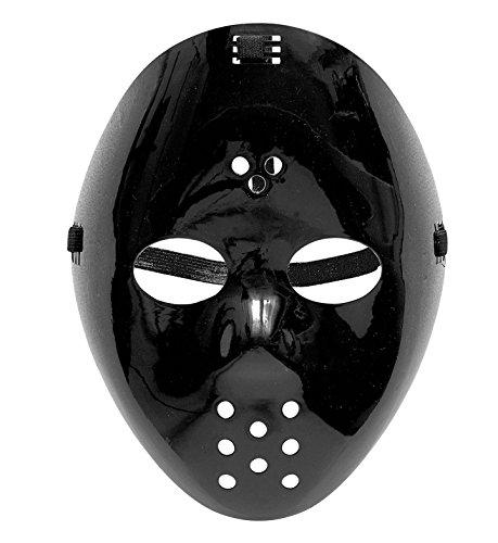 Widmann vd-wdm91703Maske Hockey, schwarz, Einheitsgröße (Hockey Schwarz Maske)