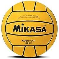 MIKASA 6000 Balón de Waterpolo, Unisex Adulto, Amarillo, 5