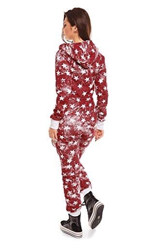 Fashion - Tuta -  donna Rosso