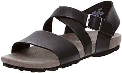 Timberland Men's Black Leather Sandals and Floaters - 7.5 UK