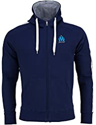 Sweat zip capuche OM - Collection officielle Olympique de Marseille - Taille adulte homme