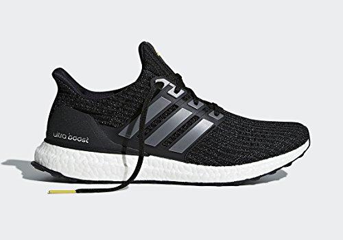 adidas Men's Ultraboost Ltd Training Shoes, Black (Cblack/ironmt/vivyel), 9 UK