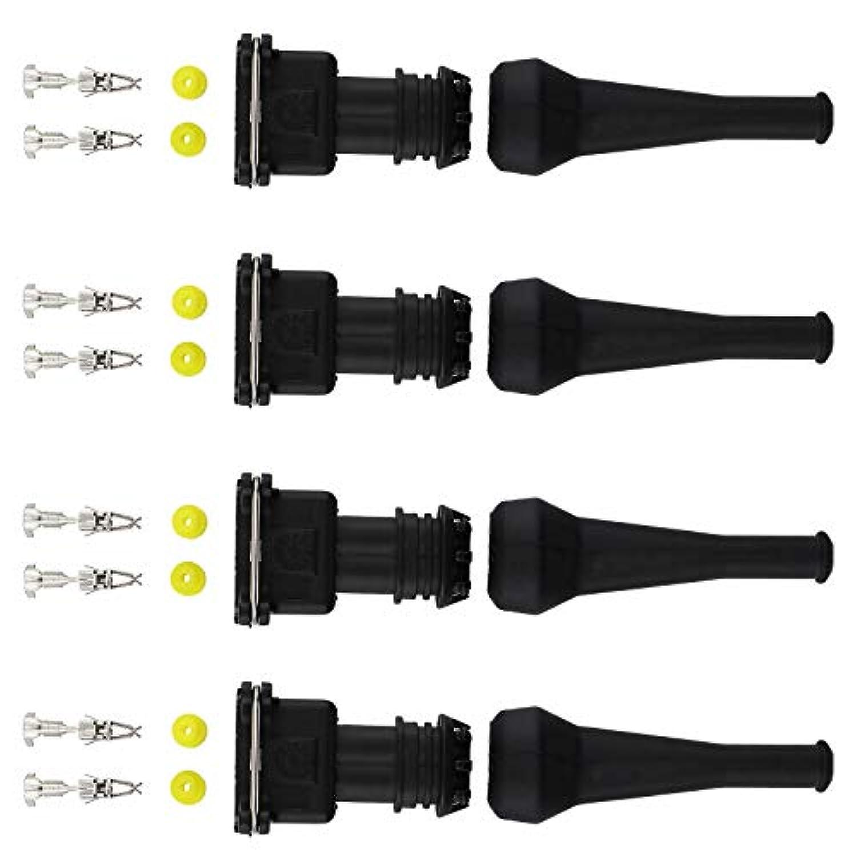 Idea Bosch D'injecteur Connecteur Ev1 Creative 4pcs Câblage 0N8nwvm
