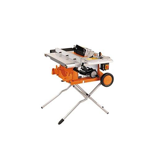 AEG 4935419265 Modell 250 K Tischkreissäge, 1800 W, 254mm, 30mm, Naranja, Plata