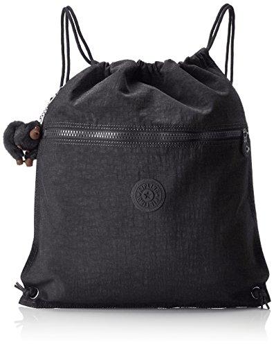Kipling SUPERTABOO Bolsa de Deporte Infantil, 45 cm, 15 Liters, Negro (True Black)