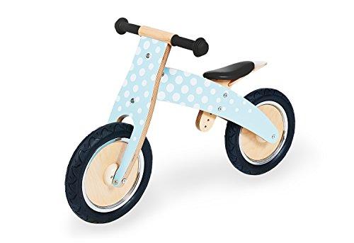 Pinolino Laufrad Fridolin, Laufrad Holz, unplattbare Bereifung, umbaubar vom Chopper zum Laufrad, für Kinder ab 2 J., mint