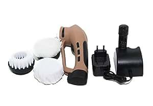 brosse electrique portable chaussure en cuir avec 3 nettoyage changeables polissage de. Black Bedroom Furniture Sets. Home Design Ideas