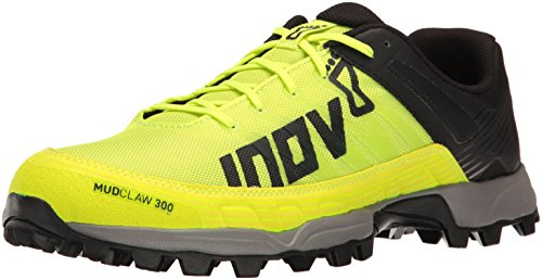 Inov-8mudclaw 300 - Scarpe da Trail Running - Neon Yellow/Black/Grey