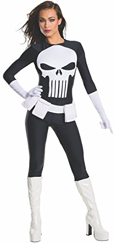 MARVEL ~ Punisher (Secret Wishes) - Adult Costume Lady: SMALL