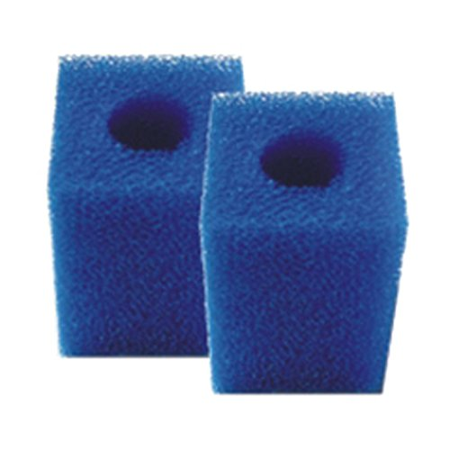 2 St. Filterschwamm, Filterpatrone für Innenfilter z.B. Eheim Pickup 160 geliefert Werden Weisse oder Blaue Breite 12 cm Höhe 13,70 cm Tiefe 6,20 cm