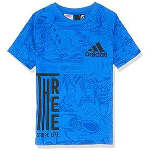 adidas Jungen Id Print Kurzarm-Shirt