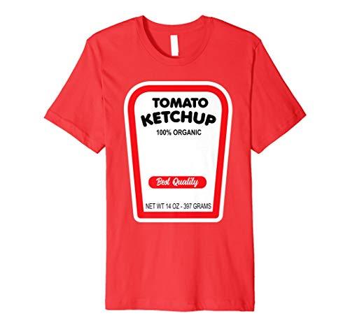 (Funny Organischer Tomaten-Ketchup Halloween-Kostüm T-Shirt)