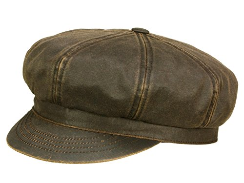 9ad24024d Best Seller! Safford Old Cotton Newsboy Cap Stetson cotton cap ...