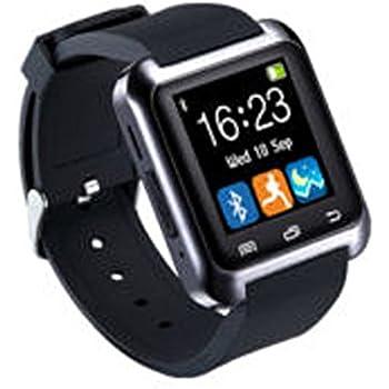 UxradG Sport U8 - Pulsera inteligente con podómetro, Bluetooth, recordatorio de llamadas, cámara