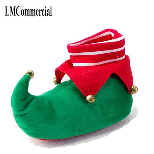 Weihnachtsschuhe Indoor Hausschuhe Weihnachten eine warme Winter Liebhaber Hause dicken harten Baumwolle Boden Schuhe-7