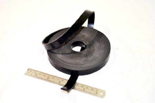 Gummistreifen, 15 mm breit x 3mm dick x 5m lang,massives Neoprengummi, Schwarz