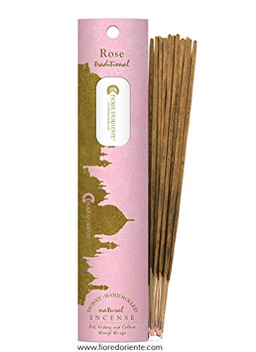 Fiore D 'oriente rosa incense100% Natural 10palos