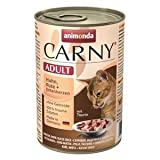 Animonda Cat Carny Adult Huhn & Pute & Entenherzen | 6 x 400g