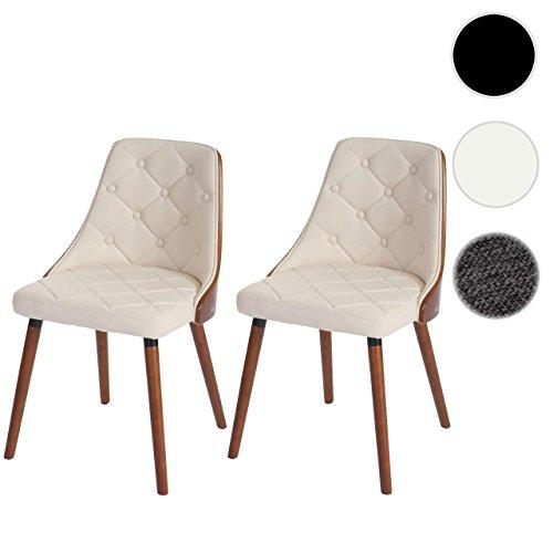 Set 2x sedie sala da pranzo soggiorno Osijek design ...