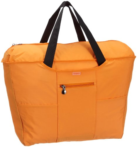 Samsonite Faltbare Umhängetasche TRAVEL ACCESSOR. V CYLINDER FOLDING TOTE ORANGE